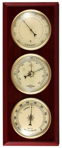 Ambient Weather WS-YG315 Cherry Finish Dial Traditional Weat