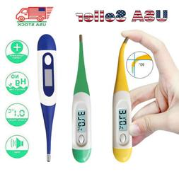 LCD Digital Fever Thermometer for Adults and Kids Oral/Under
