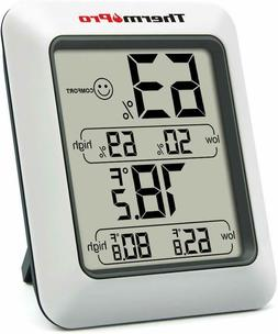 ThermoPro LCD Digital Indoor Hygrometer Thermometer Temperat