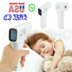 LCD Digital Infrared Forehead Thermometer Gun Non-contact Te