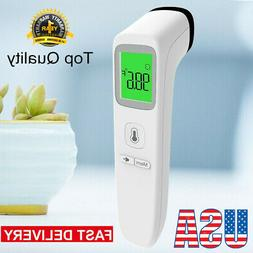 LCD Digital Non-contact IR Infrared Thermometer Forehead Bod
