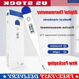 LCD Digital Thermometer For Baby Kids &Adult Oral & Rectal M