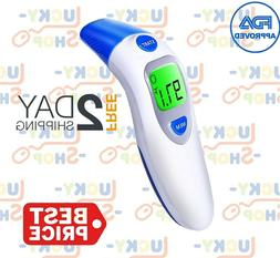 LCD Digital Thermometer Infrared Baby Adult Forehead Non-con
