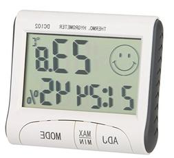 AmaranTeen - LCD Digital Wireless Thermometer Hygrometer Tem