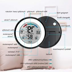 lcd display digital hygrometer thermometer humidity meter