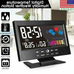LCD Display Digital Thermometer Hygrometer Weather Station A