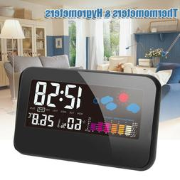 LCD Temperature Humidity Weather Meter Hygrometer Room Indoo