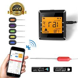 Digital Meat thermometer for Grilling , ICOCO Best Instant R