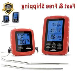 Meat Thermometer Digital Grill Oven for Safe Remote BBQ Gril