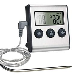 Meat Thermometer Food Instant Read for Grilling Cooking Smok