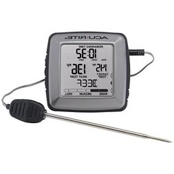 AcuRite 01184M Digital Meat Thermometer with Time Left to Co