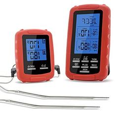 Meat thermometer digital grill oven or smoker remote food th