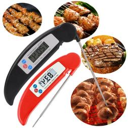 Safety Digital Thermometers Probe BBQ Grill Food Meat Cookin
