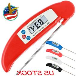 Meat Thermometer Instant Read Digital Kitchen Food Grill Liq