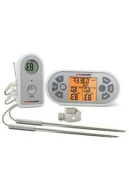 Meat Thermometer with Dual Probe ThermoPro TP-22 Digital Wir