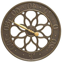 Whitehall Products Medallion Thermometer, French Bronze