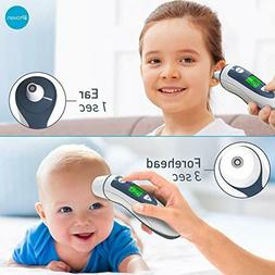 iProven Medical Digital Ear Thermometer with Temporal Forehe