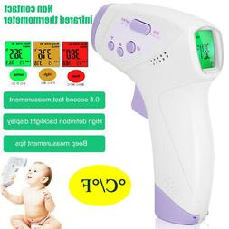 Medical Forehead and Ear Infrared Digital Thermometer for Ba