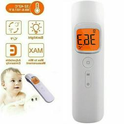 Medical Forehead and Ear Thermometer for Fever with Fever Al