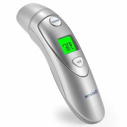 Medical Forehead And Ear Thermometer METENE Infrared Digital