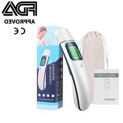medical grade non contact infrared forehead thermometer