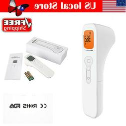 Medical Non-Contact Infrared Thermometer Gun LCD Digital For