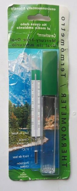 Geratherm Mercury Free Oral Glass Thermometer Environmentall