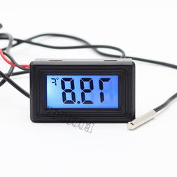 Mini F Digital LCD Thermometer Temperature Meter Gauge Senso