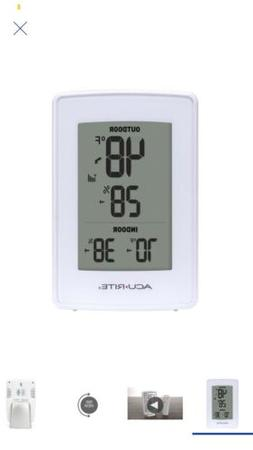 NEW!!!  Acurite 165-ft Wireless Weather Thermometer with Hum