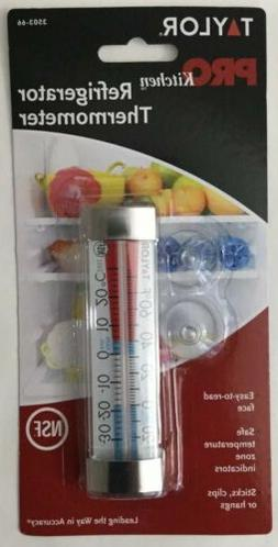 new 3503 66 refrigerator freezer thermometer sealed