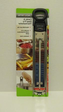 NEW Acurite Candy & Deep Fry Thermometer Pan Clip Stainless