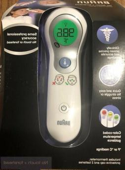 NEW Braun Digital No-Touch+Forehead Thermometer For Infants