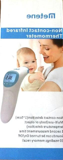 NEW Metene DIGITAL NON CONTACT LCD THERMOMETER TEMPERTURE HE