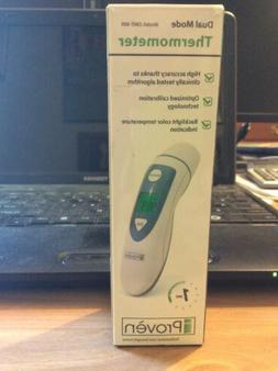 New Proven DMT-489 Dual Mode Thermometer Forehead and ear. 1
