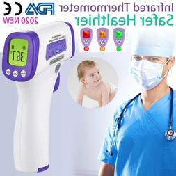 NEW IR Infrared Digital Forehead Fever Thermometer Non-Conta