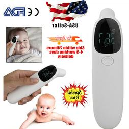 No-Contact Digital Infrared Forehead Ear Thermometer Baby Ad