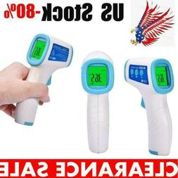 No Touch Forehead Thermometer  Infrared Non Contact Adult Di