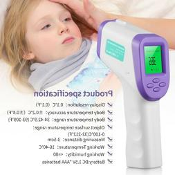 No Touch Infrared Digital Forehead Thermometer Baby Adult Bo