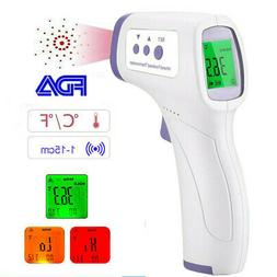 Non-Contact Infrared Digital Forehead Thermometer Baby Adult