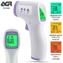 Forehead Thermometer FDA Approved No-Touch Non Contact Adult