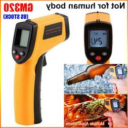 Non Contact LCD IR Laser Infrared Digital Temperature Thermo