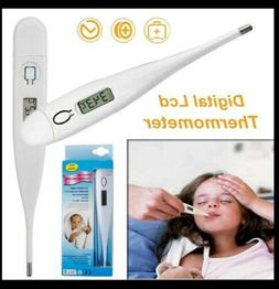 Oral Electronic Thermometer Digital LCD Homeuse Baby Adult B