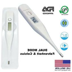 Oral Thermometer For Baby Kid Adult Health Medical Fever FDA