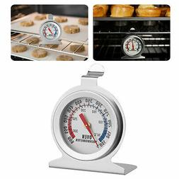Oven Thermometer Stainless Steel Classic Hanging/Stand Up Fo