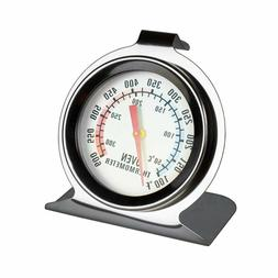 Oven Thermometer Stainless Steel Classic Stand Up Food Meat