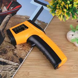 Plastic Handheld Non-Contact Indoor Infrared Thermometer Por