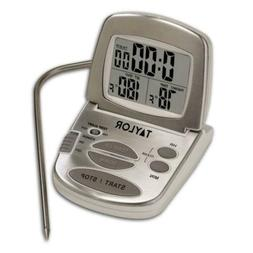 Taylor Precision Products Digital Cooking Thermometer with P