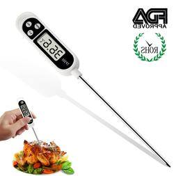 Premium Instant Read Meat Thermometer - Best Waterproof Ultr