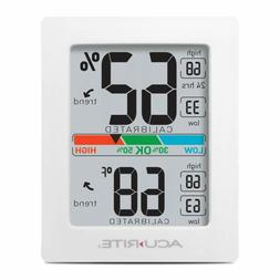 Pro Accuracy Indoor Temperature And Humidity Monitor, Origin