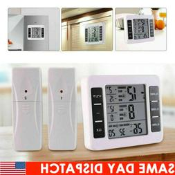 Pro Wireless Digital Refrigerator Freezer Thermometer Min Ma